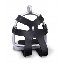 Barefoot 90 degree safety stirrup with cage