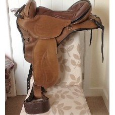 Sensation G4 Western Sport Treeless Saddle Package