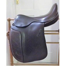 "Barrie Swain SemiFlex 17"" Holistic Working Hunter Saddle, Brown - PRICE REDUCED"