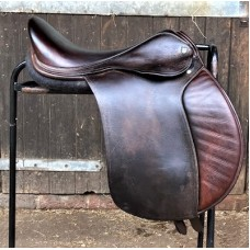 "Nick Dolman Enigma GP saddle, 17.5"" Brown"
