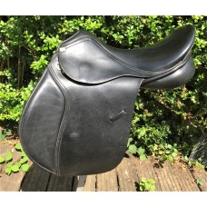 GFS  Thoroughbred XCH GP Saddle, Black 17.5""