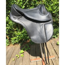 Second-hand Barefoot Cherokee Classic Treeless Saddle, Size 1 (Black) - SOLD