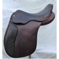 "St Merryn Holistic Working Hunter Saddle, 17.5"" Brown"