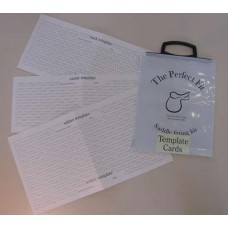 The Perfect Fit Template Card Set