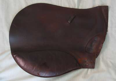 Saddle flap
