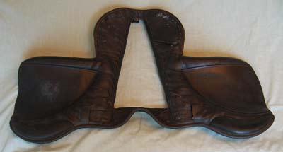 Saddle panels removed